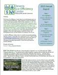 DEEC's 2013 Annual Report