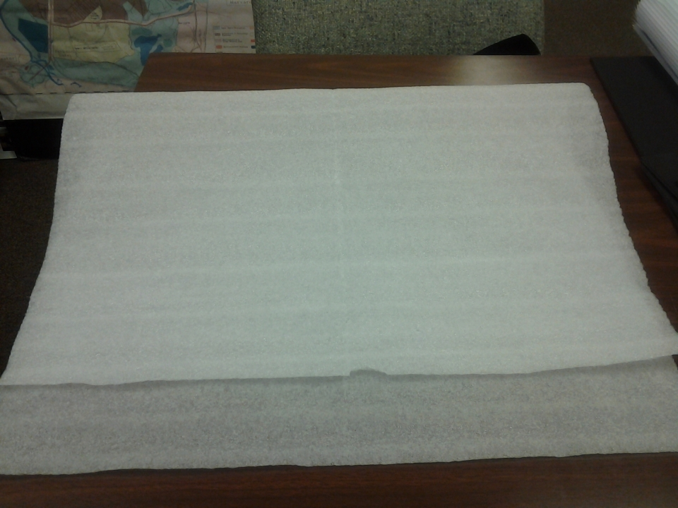 """photo of 24""""x 36"""" foam sheets available through The Great Exchange"""