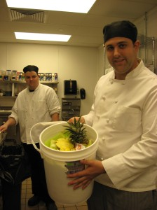 Hilton Garden Inn Chef with Compost
